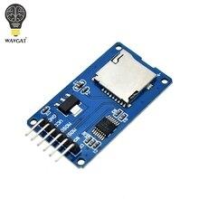 WAVGAT Micro SD плата расширения хранения Micro SD TF карта памяти щит модуль SPI для Arduino продвижение