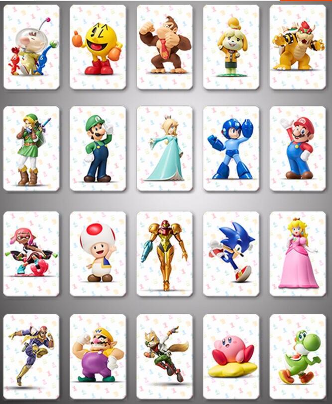 Mario Kart 8 Deluxe Set Completo NTAG215 NFC Carta di Stampa tutto set-20pcs/lot