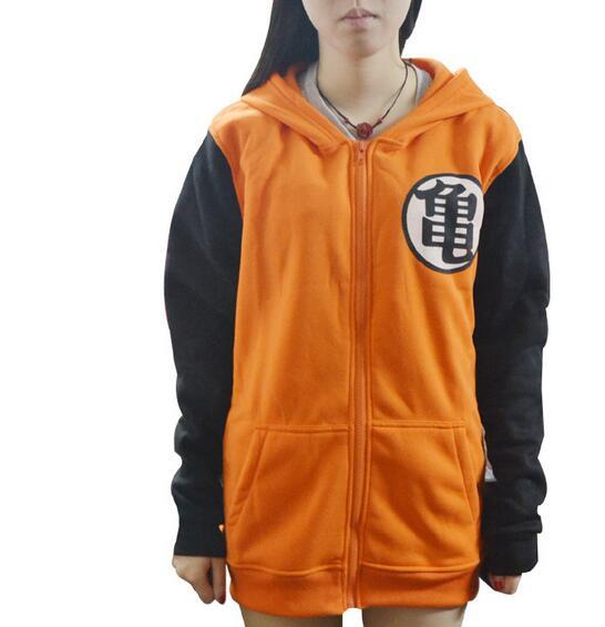 Dragon Ball Dragon Balls Z Jacket Goku Cosplay Hooded Zipper Hoodie Costume Unisex Cardigan Jacket Coat Clothes