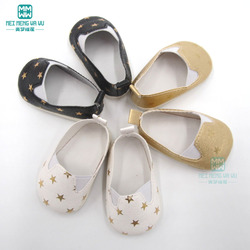 7cm mini doll shoes white sports boots for 43 cm new born doll and 45cm American doll accessories