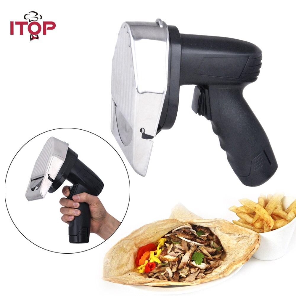 110V/220V/240V Professional Wireless Electric Shawarma Slicer Doner Knife Gyros Cutter 0012 05 electric wire kebab slicer shawarma knife doner gyros cutter