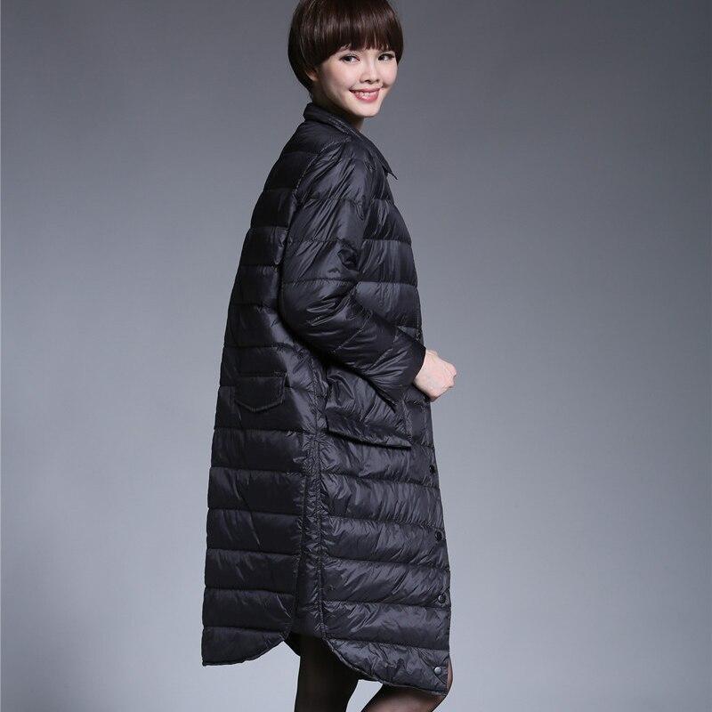 Parka Black Canard Noir Nouveau Duvet Long Européen 2018 Veste Style Vers D'hiver Qualité Femmes Le 90 Casaco Blanc Bas Haute Feminino De Wuj0606 Frais xzHqIgp