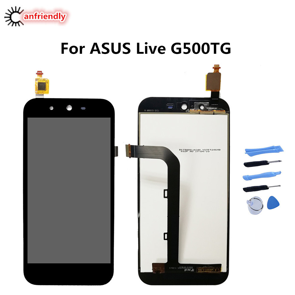 For <font><b>ASUS</b></font> <font><b>Live</b></font> <font><b>G500TG</b></font> LCD Display+Touch Screen Repair Digitizer Assembly Phone Replacement Glass Panel For <font><b>Asus</b></font> <font><b>Live</b></font> display new image