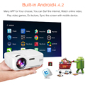 AUN AM01S Wifi Projector Android TV Beamer Miracast Kodi AC3 Support Full HD 1080p Led Home Theater Mini Portable Proyector