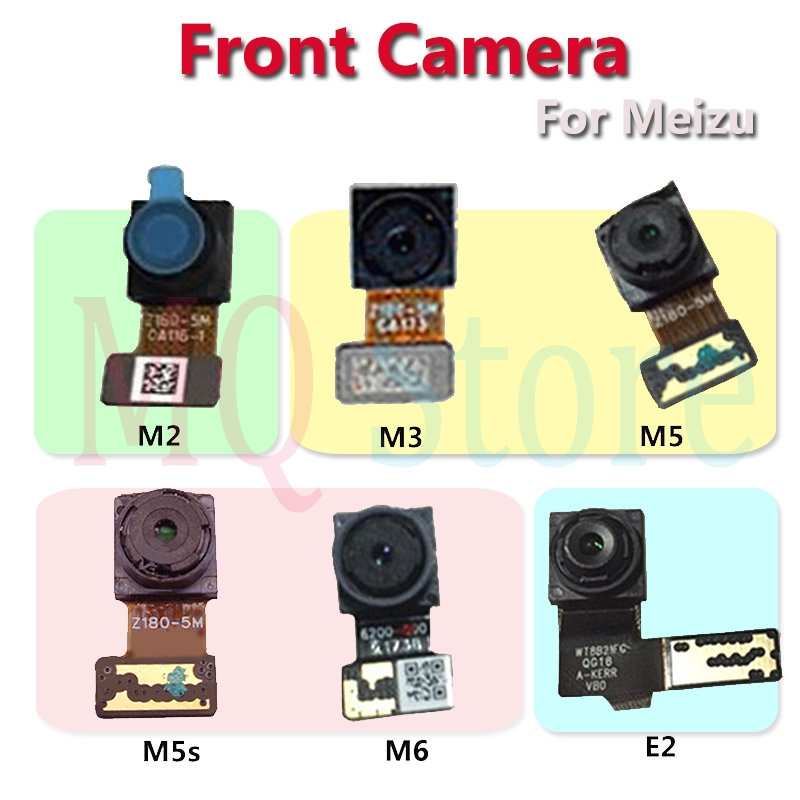 For Meizui M2 M3 <font><b>M3s</b></font> M5 M5s M6 E E2 100% New Tested Facing Front Small <font><b>Camera</b></font> Module Flex Cable Repair Parts image