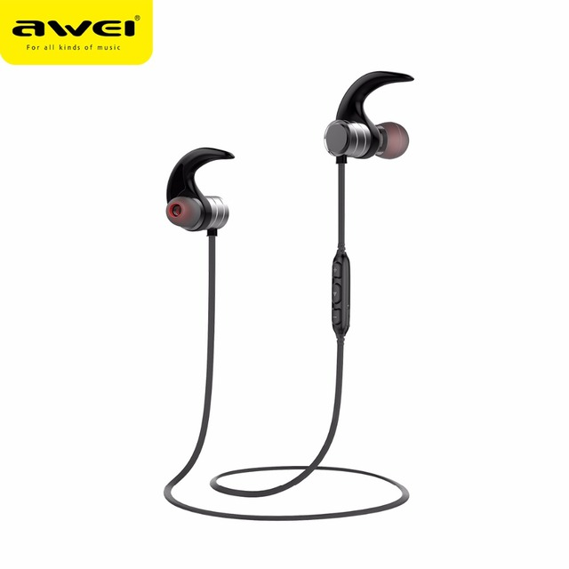 f764a9e6a25 AWEI AK1 Waterproof Wireless Headphones Magnetic Switch Bluetooth Earphone  Sport Stereo Wireless Headset with microphone Earbuds