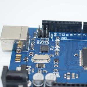Image 3 - 10pcs Mega 2560 R3 Mega2560 REV3 ATmega2560 16AU,ATMEGA16U2 MU  Board + USB Cable compatible 10set