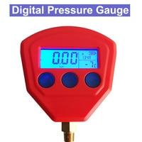 SP R22 R410 R407C R404A R134A Air Conditioner Refrigeration Vacuum Medical Equipment Battery Powered Digital Pressure Gauge