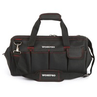 WORKPRO 18 Inch Large Tool Bag Travel Bag Men S Multifunction Bag Tool Kits Bag