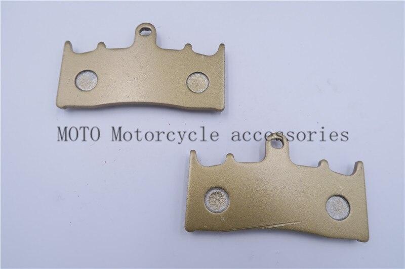 Мотоцикл тормозные колодки для Kawasaki zrx 1200 R (A1/A2/A3/A4/A5/A6F) для Suzuki GSX 1400 2001-07 GSX 1300 1999-2007 передние тормозные колодки