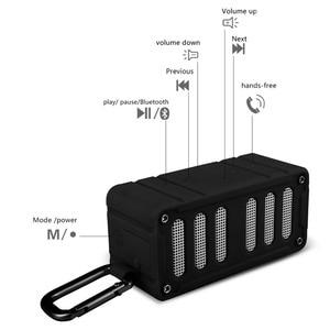 Image 2 - MIFA F6 głośnik nfc z bluetooth zewnętrzny głośnik bezprzewodowy wodoodporny IPX4 kompatybilny głośnik stereo TF dla Iphone6/6 S, Ipad, Samsung