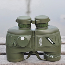 Beileshi Hunting Night Visions 10X50 396FT/1000YDS Sports Monocular Binoculars Military Optics Telescope Spotting Scope Compass