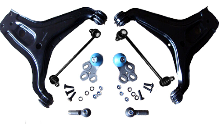 8 pcs per set Car Full Suspension Kit Control Arm Use For Audi 80 With ISO Certificate 8A0407365 8A0407366 8A0407465C 811419812A цена