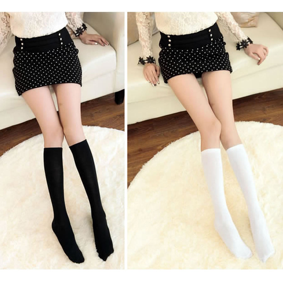 2016 New 11 Colors Fashion Women's Socks Sexy Warm Thigh High Over The Knee Socks Long Stockings For Girls Ladies Women