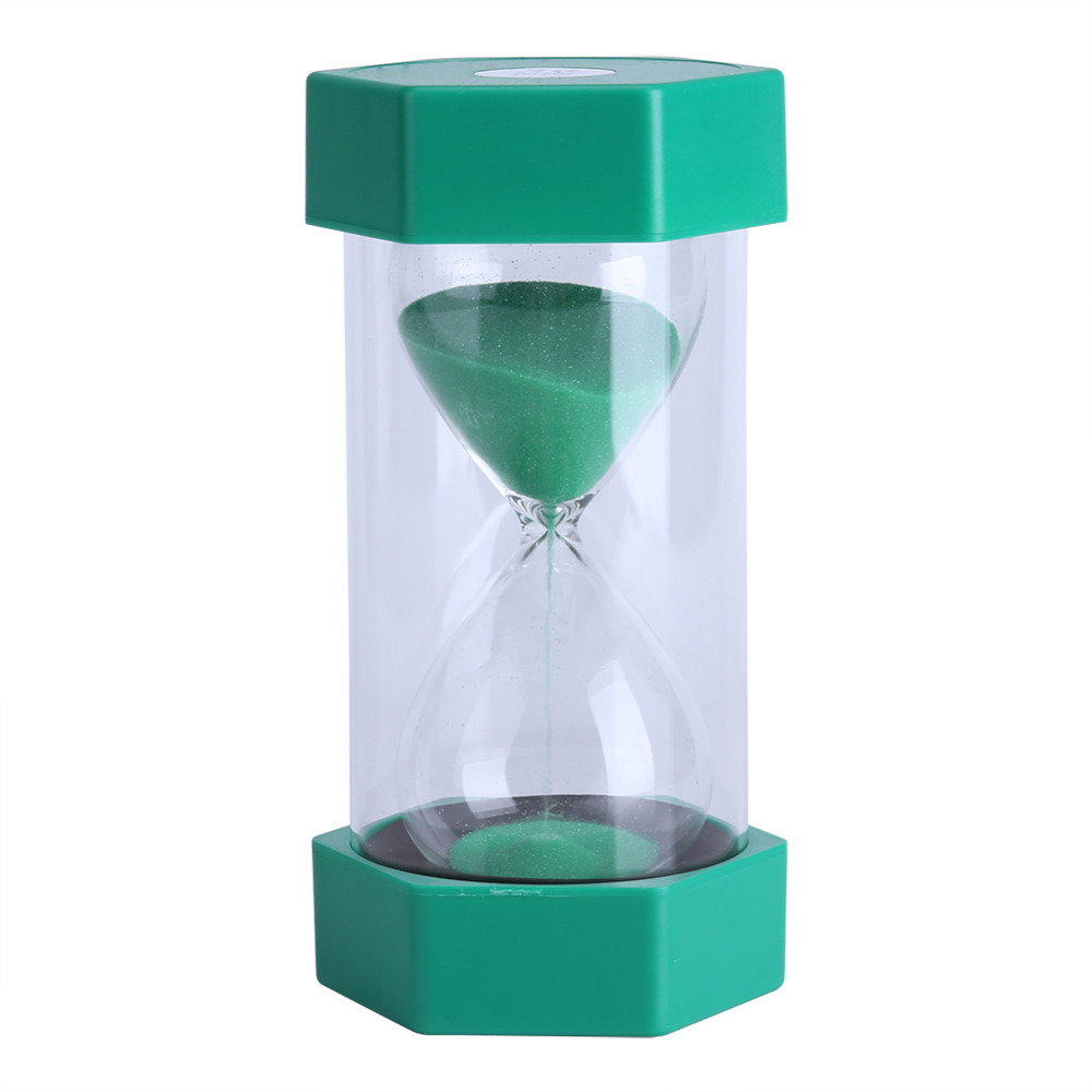 Sand Glass Hourglass 3/10/20/30/60 Minutes Timer Clock