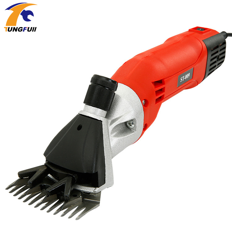 Tungfull Electric Sheep Clipper Sheep Shearing Clipper Sheep Wool Shear Machine 110V/220-240V 500W 0-2400 rpm 76mm/94mm new 680w sheep wool clipper electric sheep goats shearing clipper shears 1 set 13 straight tooth blade comb