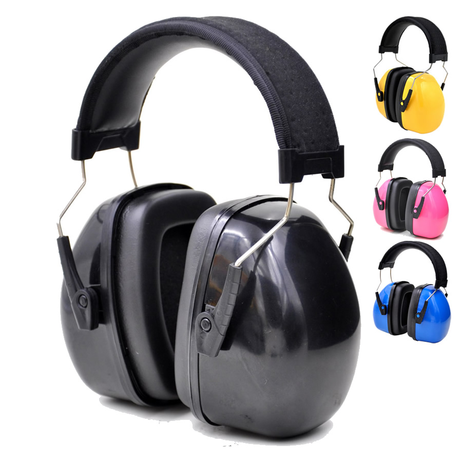 New Color Head Earmuffs Anti-noise Ear Protector For Kids/Adults Study Work Sleep Hearing Protection With Adjustable Headband