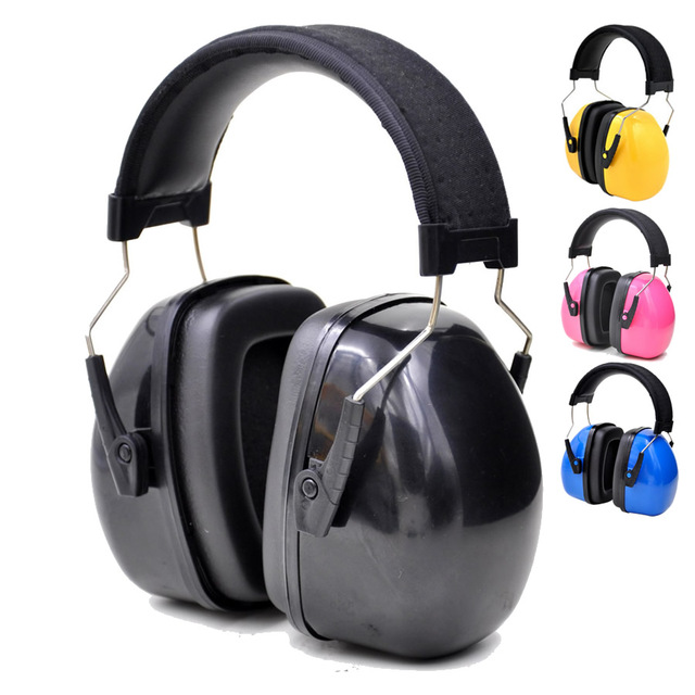 New Color Head Earmuffs Anti noise Ear Protector For Kids/Adults Study Work Sleep Hearing Protection With Adjustable Headband