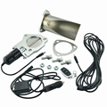 2.5 inch Electric Stainless Exhaust Cutout with Remote control With Be cut Pipe Exhaust Cut out Kit