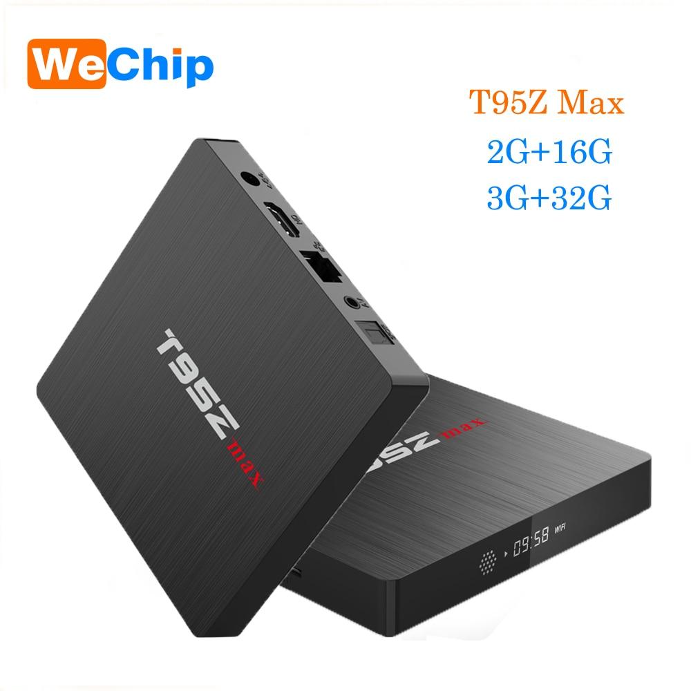 T95Z Max S912 Smart Android 7.1 TV Box 2G+16G 3G+32G Dual Wifi Bluetooth 4.0 4K HD 1000M LAN VP9 H.265 Media Player PK T95Z Plus t95z plus amlogic s912 android 6 0 2g 16g tv box rii i8 white