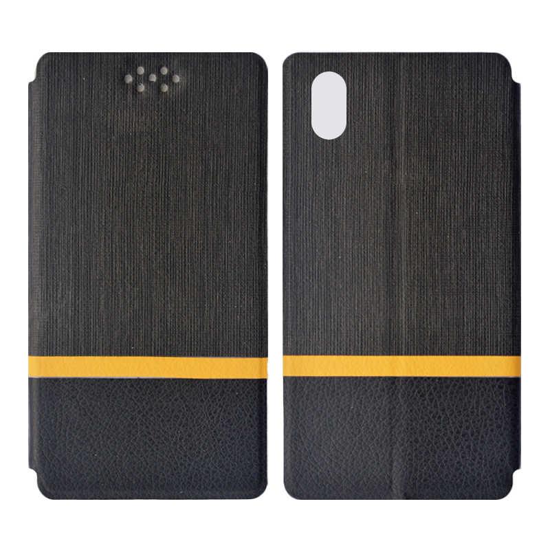 Dower me suave TPU funda de silicona + moda Multicolor PU Funda de cuero para DEXP G250 teléfono