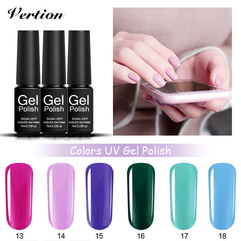 Gel Nail Soak Off Kit: Verntion Kit For Gel Nail Polish High Quality Salon Gel