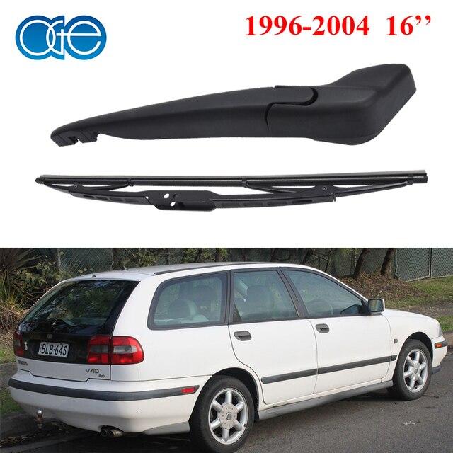 Oge 16 ''rear limpiaparabrisas y el brazo para volvo v40 1996-2004 Unidades parabrisas de goma de silicona coche accessaries rvo26-1a