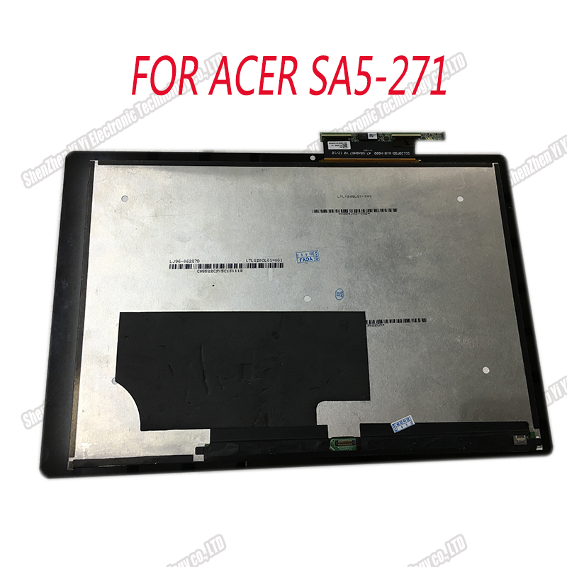 Assemblage Original d'affichage à cristaux liquides pour le commutateur de SA5-271 d'acer Alpha 12 écran tactile N16P3