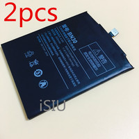 ISIU 2pcs Wholesale Battery For Xiaomi Redmi 4A Battery Hongmi 4a Mobile Phone Rechargeable Red Rice