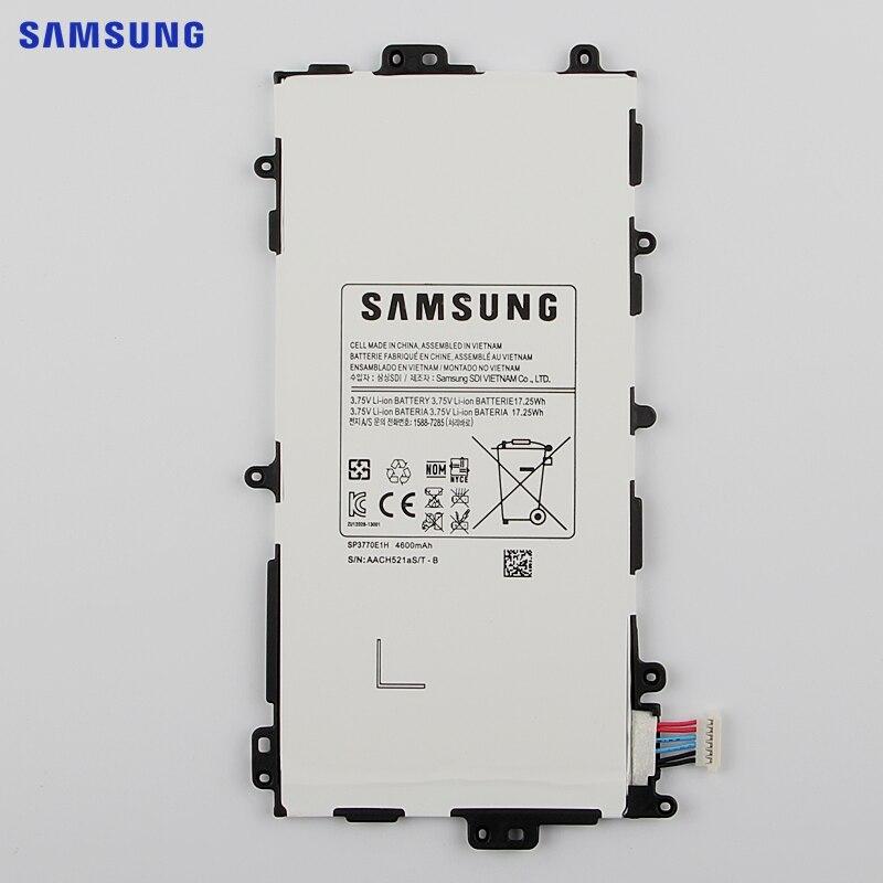 SAMSUNG Originale SP3770E1H Batteria di Ricambio Per Samsung GALAXY Note 8.0 N5100 N5110 N5120 Autentico Tablet Batteria 4600 mAh
