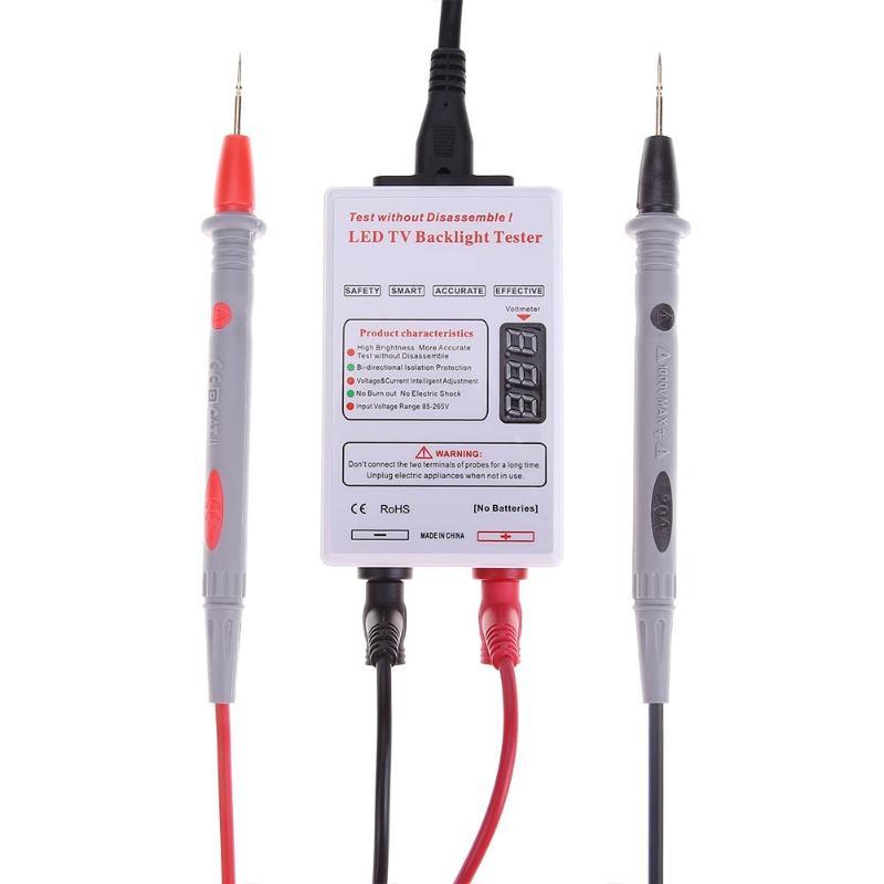 Voltage Tester Laptop TV/LCD/LED Screen Test Tool Panel Tester 0-300V LED Super Bright Backlight Smart Voltage Tester Tool