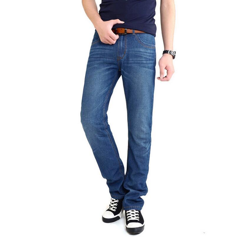 Four Seasons style font b Men b font Casual font b Jeans b font Slim Straight