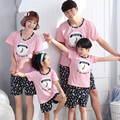 2017 mother daughter pajamas mother father baby father son matching clothes mother and son outfits family look clothing set