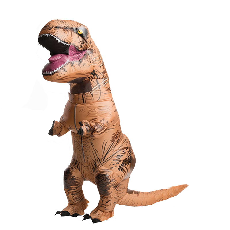 Inflatable Trex costume Christmas costumes Supplies Anime Adult Halloween costumes for adult men women Fancy Party Dress