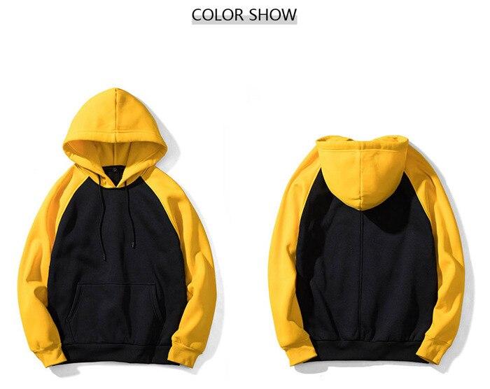 Fgkks marca de moda masculina hoodies splice