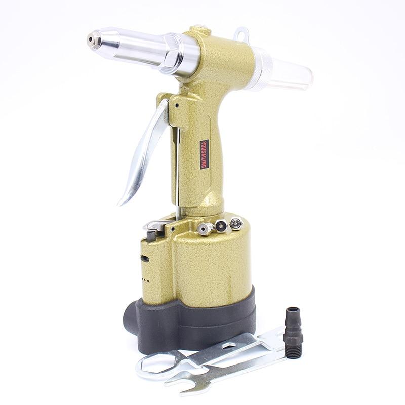 YOUSAILING 2.4mm-4.8mm Air Blind Riveters Air Hydraulic Rivet Guns Tool Pneumatic Riveting Gun