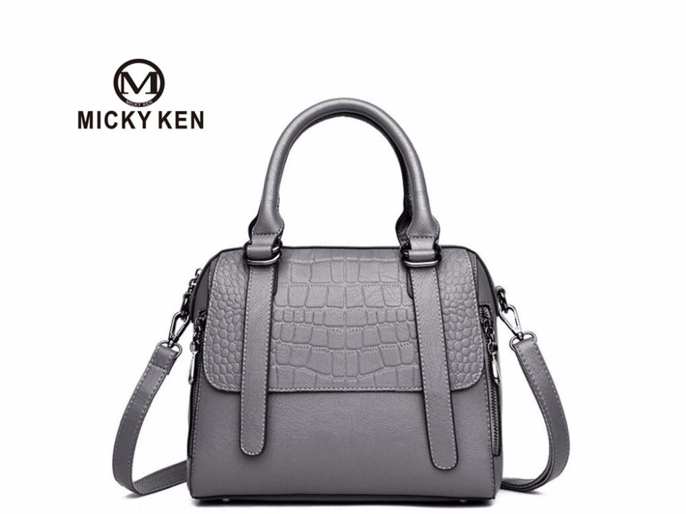 2018 new style burst handbags shoulder bag crocodile pattern bag iPad bag multi-function package multi function white radish style peeler