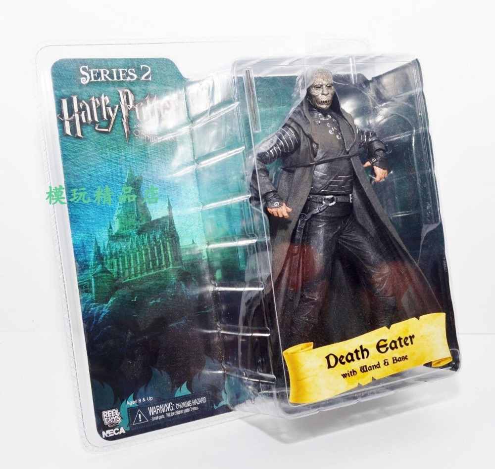 NECA Harry Potter Death Eater brand new boxed Action Figure model ornaments 7 inchNECA Harry Potter Death Eater brand new boxed Action Figure model ornaments 7 inch