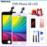 Pantalla LCD para iphone SE para iphone 5Se a1723 a1662 pantalla LCD pantalla táctil digitalizador pantalla de repuesto + regalo