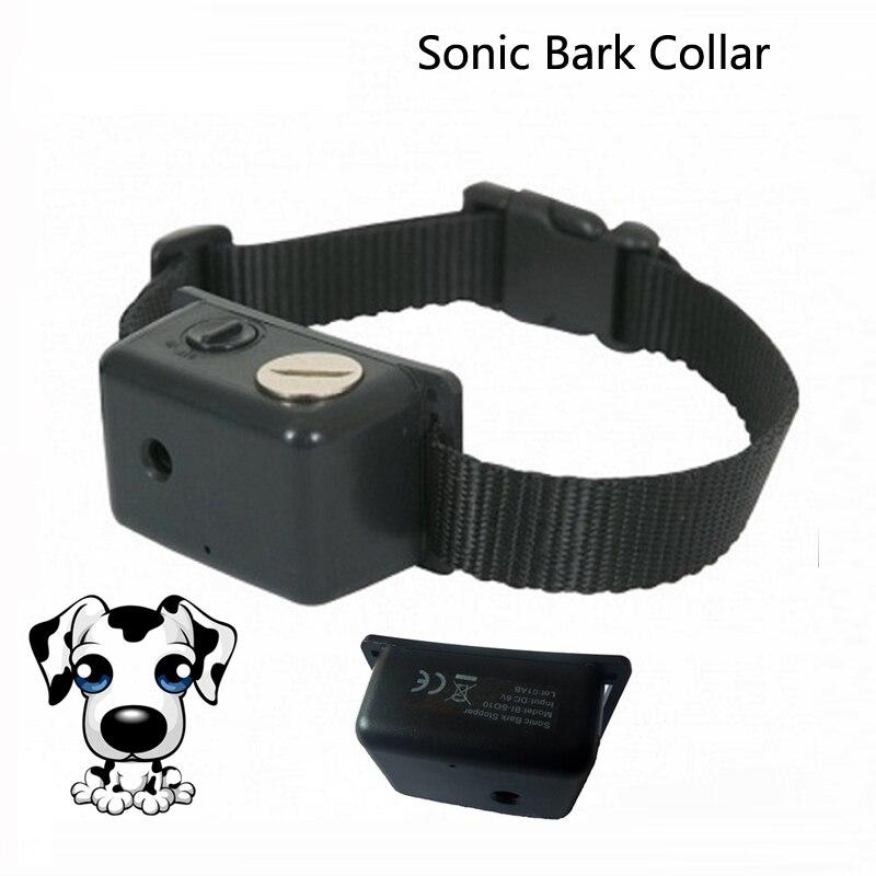 Товары для животных Собака trianing воротник водонепроницаемый легкий вес Sonic кора воротник управления