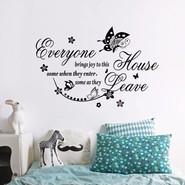 Beautiful Butterfly Pattern Decorative Wallpaper Unique Design Removable Wall Stickers Home Decor Arts
