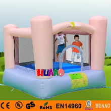 Free Shipping Family Use Pink Inflatable Mini Bouncer Indoor Playground for kids with Free CE blower