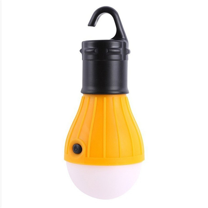 1pcs Soft Light Outdoor Hanging LED Camping Tent Light Bulb Fishing Lantern Lamp Portable Energy Saving Lamp powered AAA battery