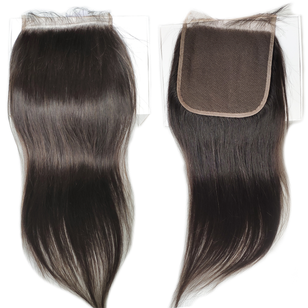 Superfect 6x6 Lace Closure Brazilian Straight Hair Human Hair Lace Closure With Baby Hair Swiss Lace 8''-22'' Remy Hair