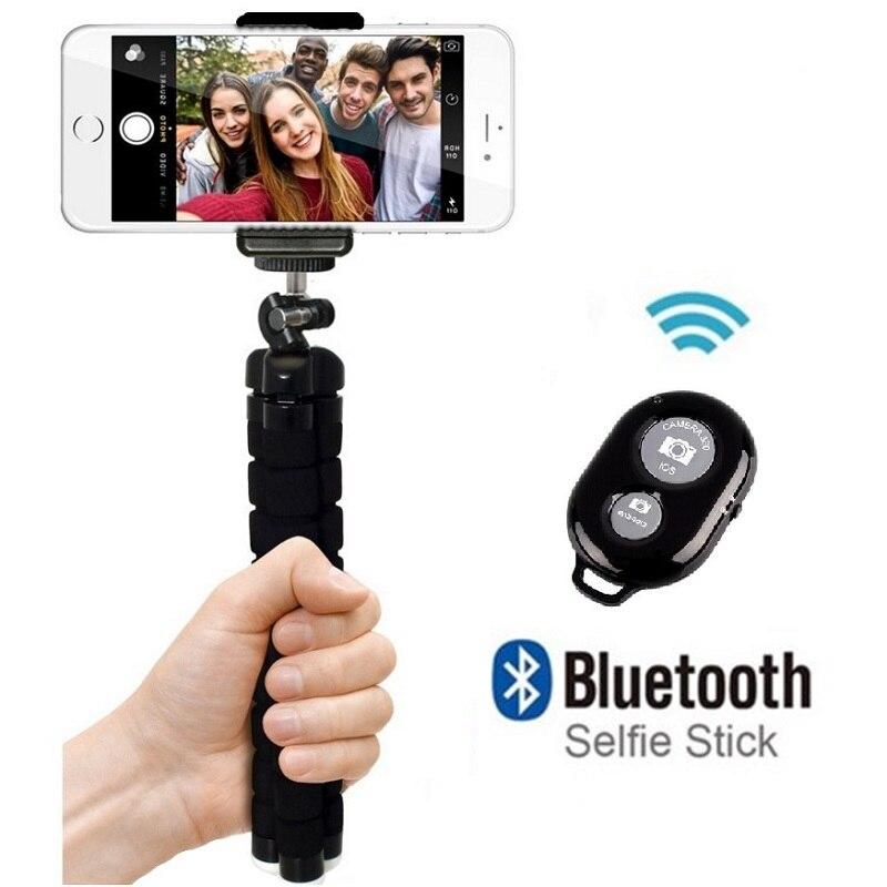 Flexible Mini Tripod Flexible Phone Tripod With Phone Clip Camera mini tripod For Smartphone & Camera Flexible Mini Tripod 2