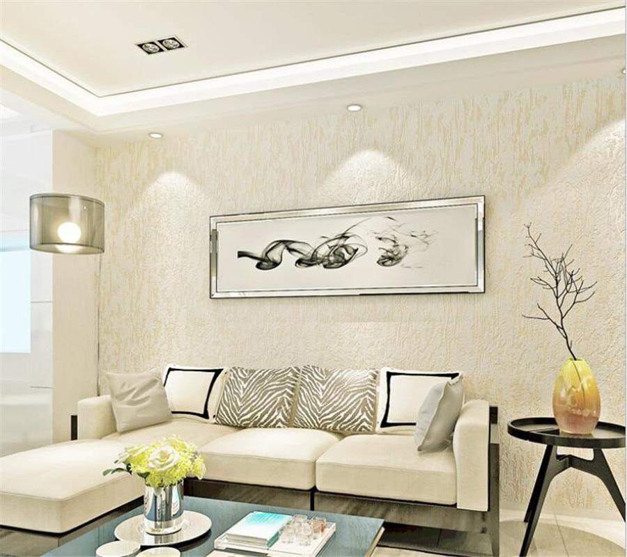 Beibehang Modern Home Background Decorative Wallpaper Plain Color