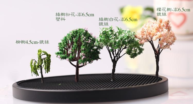 Diy Material Mini Fake Cherry Tree Terrarium Decoration Fairy Garden