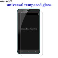 Vidro temperado universal 9, 4.0 / 4.3 / 4.5 / 4.7 / 5.0 / 5.3 / 5.5 / 6.0 polegadas película protetora de tela h 2.5d premium, para xiaomi
