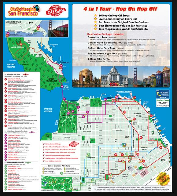 Customized tour map printing travelling map print