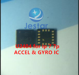 2pcs/lot U2404 MPU-6900 ACCEL & GYRO IC for iphone 7 7plus2pcs/lot U2404 MPU-6900 ACCEL & GYRO IC for iphone 7 7plus